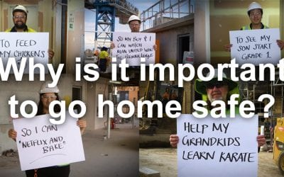 WATCH   Why is it important to you to go home safe every day?