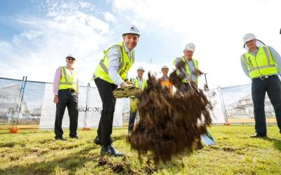 Ground breaks on new Medical Centre for Logan City Health Precinct