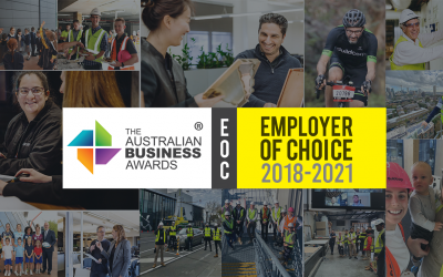 Quadfecta! Buildcorp secures fourth consecutive win as an Employer of Choice